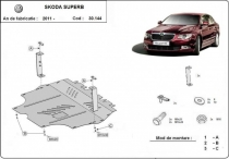 Scut auto Skoda Superb 2