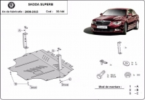 Scut auto Skoda Superb