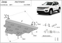 Scut auto Jeep Compass
