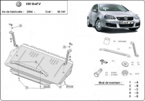 Scut auto VW Golf 5